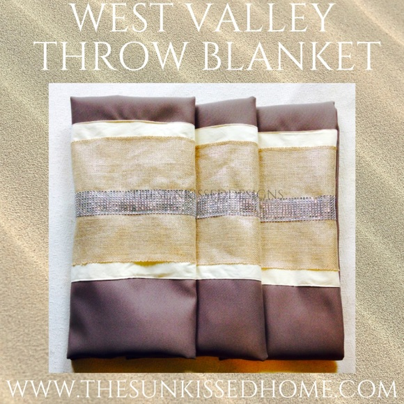 West Valley Throw By~The Sun*Kissed Designs
